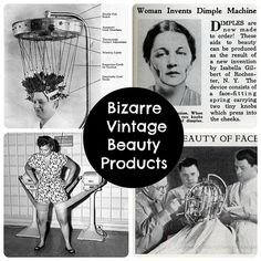 In the name of beauty: Vintage products that will blow your mind >>>Cant believe it. Funny and sad at the same time #history #beauty products