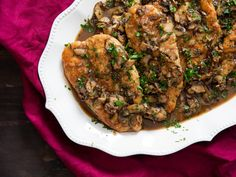 A Few Simple Rules for Perfect Chicken Marsala — Serious Eats Chicken Mushroom Marsala, Marsala Mushrooms, Baked Chicken, Chicken Recipes, Chicken Meals, Boneless Chicken, Seafood Recipes, Beef Recipes, Pan Sauce Recipe