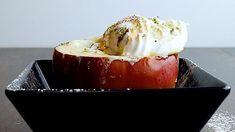 Bratapfel mit Eis