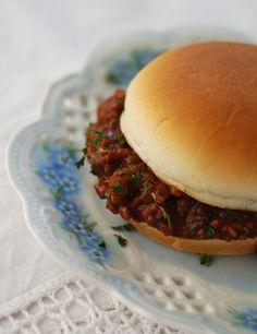 THE BEST SLOPPY JOES