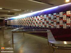 Mixed zone #FCBarcelona #campnouexperience
