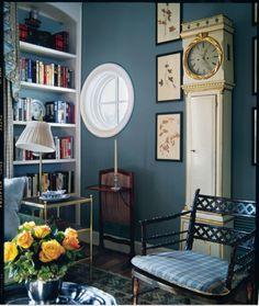 Loch Blue (SW 6502) sitting room #blue