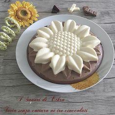 Torta senza cottura ai tre cioccolati - I Sapori di Ethra |