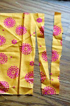 To make fabric yarn