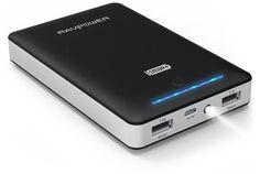 Portable Charger RAVPower 16750mAh External Battery Power Bank 4.5A Dual USB Output (iSmart Technology)