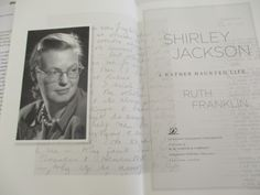 Pages from Shirley Jackson: A Rather Haunted Life by Ruth Franklin