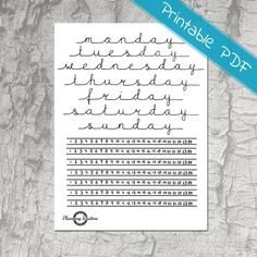 These Daily Planner Stickers with Time Trackers are perfect for your planner. The stickers are the perfect size for A5 notebooks. * Beautiful Typography * Printable PDF File: Print on your own sticker paper and enjoy! * Time tracker are pre-filled (1h - 24h) * A4 Page: 21.0 x 29.7cm (11.93 x 15.98) File can be downloaded immediately after payment is confirmed. The downloaded file is in PDF format. You need a PDF-viewer to print this file. How to print: 1. Use sticker paper (matte or gloss…