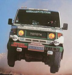 "For the 1987 and 9th ""Paris-Alger-Dakar Telefunken"" Rally, Team ACP raced the Toyota Land Cruiser #BJ71V. In total, #Toyota won two championships."