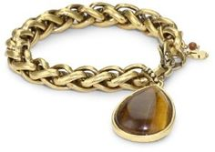 : Lucky Brand Large Chain Bracelet: Jewelry