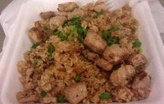 Poke Fried Rice Simple, yet satisfying meal that is served at popular plate lunch and food truck grindz!