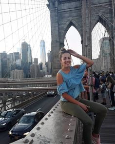 "Lucia Gaššová na Instagrame: ""Day 111 New York. See you later ❤ . . . . . #zavodousckm #city #usa #america #americandream #unitedstates #newyork #newyorkcity #nyc…"""