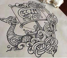Rune Tattoo, Norse Tattoo, Thai Tattoo, Maori Tattoos, Viking Tattoos For Men, Cross Tattoo For Men, Viking Symbols, Viking Art, Viking Tattoo Sleeve