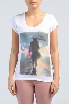 T-shirt Imprimé Photo, Du au L