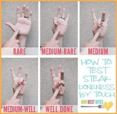 How to Test Doneness
