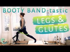 This 27 minute booty band crazy, legs and glutes strong Reformer fun flow will use your CORE to stabilize you, challenge your balance & coordination & ultima. Pilates Video, Cardio Pilates, Pilates Workout Videos, Pilates Reformer Exercises, Pop Pilates, Pilates Studio, Barre Workouts, Yoga Positions For Beginners, Pilates For Beginners