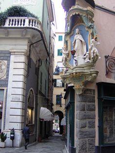 Piazza della Maddalena, Savona, Province of Savona, Liguria region Italy