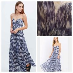 Urban Outfitters Blue Daydream Pleated Maxi Dress Urban Outfitters Daydream Kimchi Blue Pleated Maxi Dress in Blue. Urban Outfitters Dresses Maxi
