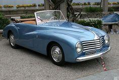 Stabilimenti Farina Fiat 1100 Spider 1947