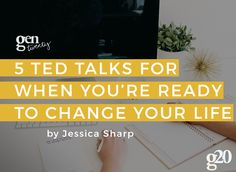 Who doesn't love a good TED Talk? These are our 5 favorite TED Talks for when you're ready to change your life.