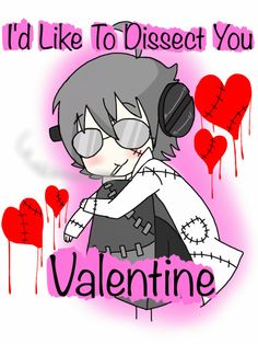 Soul Eater ~~ Stein would like to take you on a date for Valentine's Day