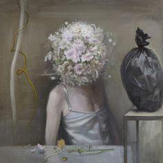 Ru Xiaofan aka Xiao-Fan Ru 茹小凡 (Chinese, b. 1954, Nan Jing, China) -Untitled, 2013   Paintings