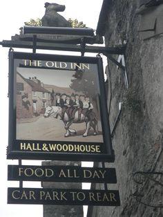 The Old Inn, Widecombe-in-the-Moor, Dartmoor, Devon, England.