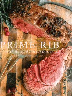 The Perfect Prime Rib Recipe - First Home Love Life Beef Top Round Roast Recipe, Rib Roast Recipe, Prime Rib Recipe, Roast Beef Recipes, Rib Recipes, Cooking Recipes, Crafting Recipes, Dinner Recipes, Beef Ribs