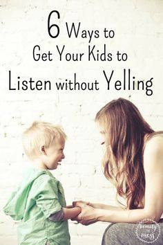 how to make your kid listen to you