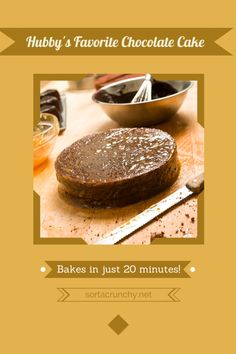 Sorta Crunchy Blog--Favorite Chocolate Cake