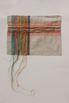 Pleat and Stripe Investigation by Penny Wheeler