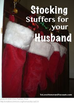 Need stocking stuffers for your husband? It's hard to find stocking stuffers for men, but here a bunch of ideas to put a smile on his face this Christmas! Primitive Christmas, Merry Christmas, Christmas Time Is Here, Christmas Gifts For Men, Little Christmas, Winter Christmas, All Things Christmas, Xmas Gifts, Christmas Stockings