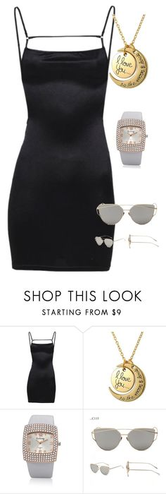 """Love you to the moon and back"" by fab-life-939 ❤ liked on Polyvore"