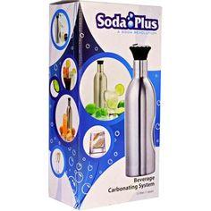 Soda Plus Home Soda Carbonating System Kit