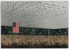 Ludwig Mies van der Rohe. (American, born Germany. 1886-1969). Convention Hall, project, Chicago, Illinois, Preliminary version: interior perspective. 1954. Collage of cut-and-pasted reproductions, photograph, and paper on composition board. Mies van der Rohe Archive, gift of the architect. © 2008 Artists Rights Society (ARS), New York / VG Bild-Kunst, Bonn