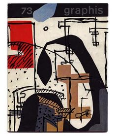 [Corbusier] Le Corbusier cover and profile in GRAPHIS 73. Zurich: Graphis Press 1957. Volume 13, No. 73, 1957.