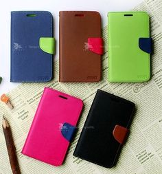 Mercury Fancy Diary Case for iPhone 5,iPhone 4/4S,Galaxy S3 III,Note 2 II at U$10.40