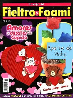 Revista de manualidades gratis fieltro y foami - <datvara:blog.title></datvara:blog.title>