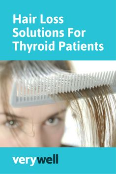 Hair loss is common amongst thyroid patients, but there are things you can do to help regrow healthy hair. Learn more about how to check the cause of the problem and alternative treatments.