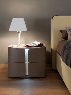 Modern Nightstand Ideas from the Master Bedroom Collection Industrial Design Furniture, Repurposed Furniture, Furniture Design, Luxury Bedroom Furniture, Bed Furniture, Furniture Makers, Furniture Stores, Diy Nightstand, Bedside Tables