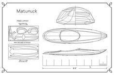 Full Size Plans for the Matunuck Surf Kayak
