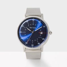 Men's quartz movement 'Gauge' watch.