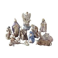I so love this Lladro Nativity....some day....