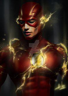 Ezra Miller - The Flash (Batman v Superman: Dawn of Justice)