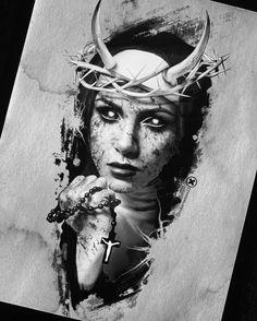 Black Cat Tattoos, Krakow, Thing 1, Betta Tattoo, Blackwork, Mystic, Grateful, Sketches, Statue