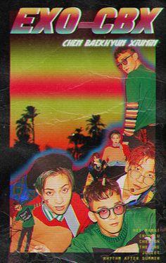 """exo style edits with their title tracks 💿"" 80s Posters, Kpop Posters, Graphic Design Posters, Graphic Design Inspiration, Arte Gcse, Design Digital, K Wallpaper, Chef D Oeuvre, Arte Pop"