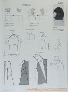 Collar, patterns instructions