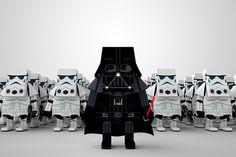 Darth Vader paper art