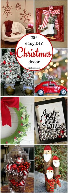 25+ easy DIY Christm