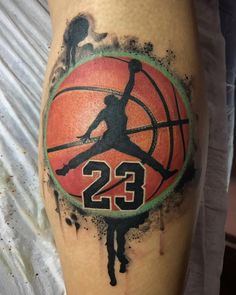 Basketball tattoo by Balberith Htireblab