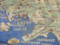 Ancient map of the Bay of Naples area - Naples - Wikipedia, the free encyclopedia